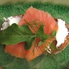 Photo - Bruschetta with smoked salmon