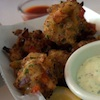 Photo of clam fritters