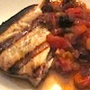 Photo of swordfish with Sicilian sauce