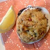 Photo of stuffed clams, Rhode Island style