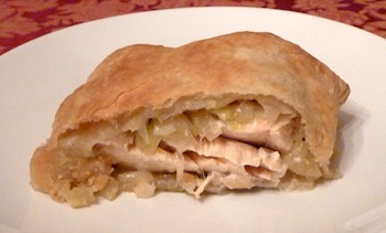 Picture of Salmon in Puff Pastry / www.super-seafood-recipes.com