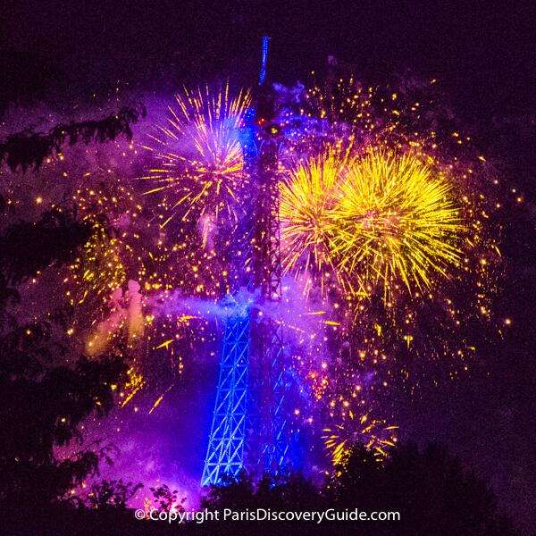Bastille Day fireworks- Top Paris Event