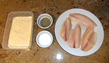Photo of pan-fried tilapia as it cooks / www.super-seafood-recipes.com