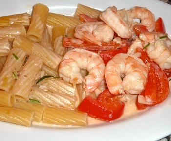 Photo of Italian shrimp in garlic sauce