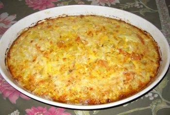 Picture of Easy Salmon Frittata / www.super-seafood-recipes.com