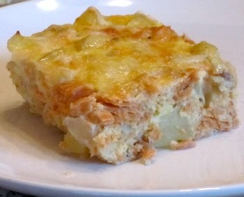 Picture of Easy Salmon Casserole / www.super-seafood-recipes.com