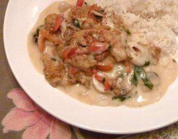 Photo of shellfish casserole / www.super-seafood-recipes.com