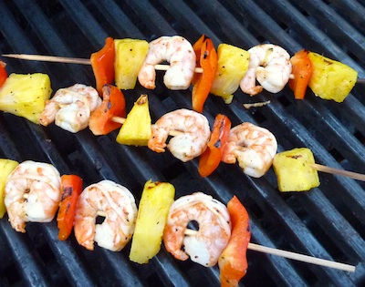 Shrimp Kabobs on the Grill / www.super-seafood-recipes.com